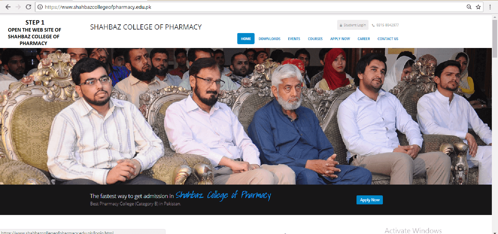 SHAHBAZ COLLEGE OF PHARMACY ONLINE PHARMACY TECHNICIAN STUDY STEP 1