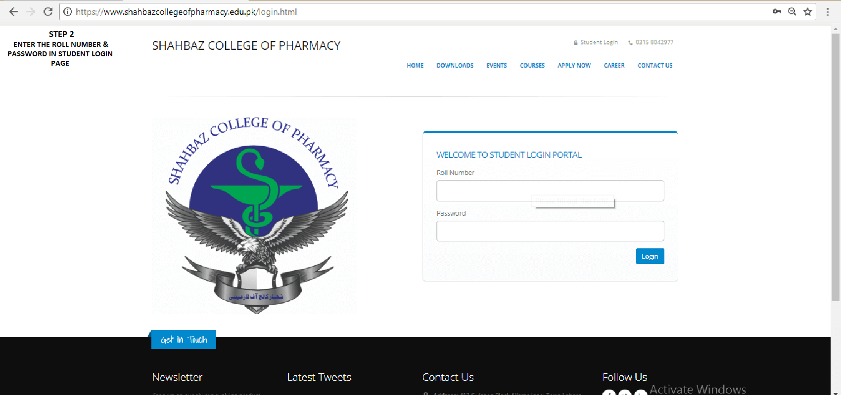 SHAHBAZ COLLEGE OF PHARMACY ONLINE PHARMACY TECHNICIAN STUDY STEP 2