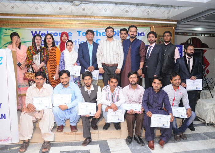 PHARMACY TECHNICIAN DEPLOMA DISTRIBUTION CERIMENY IN SHAHBAZ COLLEGE OF PHARMACY